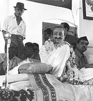 Francis Brabazon with Meher Baba