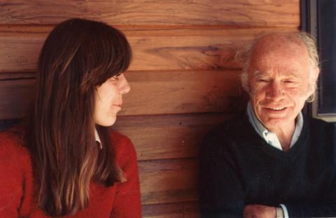 Francis Brabazon (right) with Ursula Reinhart