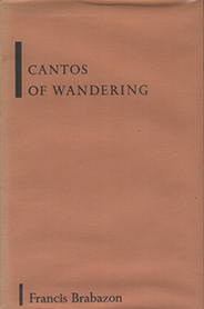 poetry - Cantos Of Wandering - Francis Brabazon